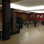 Sala de leitura e jogos de mesa (tabuleiro)