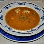 Starter, fish soup, Driftwood, Aruba