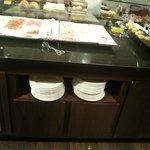 buffet desayuno embutidos
