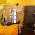 Nice room on a very nice island.