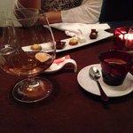 Café, armaniac et mignardises (très copieux !!!!!)