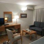 sleeping room in suite
