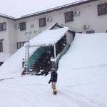 3月末の大雪