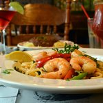 Thai Curry Linguine with Prawns