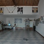 Interior escuela Mestre Boca Rica