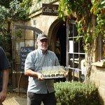 mudbrick vineyard tour guide and wine
