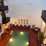Beautiful courtyard/pool area