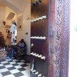 Zanzibari door to the hotel