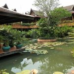 view from restaurant area Angkor Village hotel