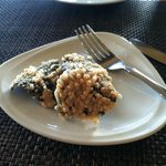 Puffed Rice on Nori... never thought I'd like it. Loved it.