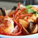 Delizie del Mare Seafood Platter @ il Fornetto
