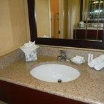 Handy sink in room