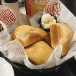 Scrumptious hot rolls!