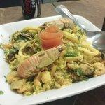 Paella de frutos do mar, R$79,90 p/ 2 em 20/03/2014