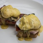 Eggs Benedict ... enough for two!