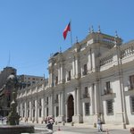 Fachada de La Moneda.