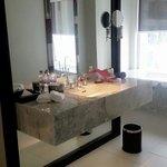 Toilet in urban deluxe room