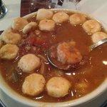 Maryland seafood chowder