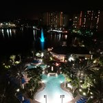Pool View - Night