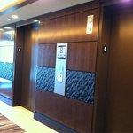 New resort tower elevators
