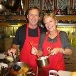 We enjoyed learning the secret of those amazingly flavorful Hungarian sauces