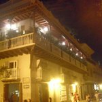 Cartagena,Colombia, in old walled city