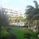 Quiet, second floor room in building three overlooking quiet pool, Occidental, Cartagena, Colomb