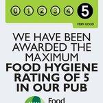 5 star food hygiene rated