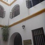Inner courtyard at Tembo
