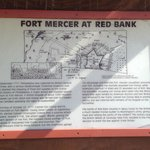 Red Bank Battlefield includes Fort Mercer