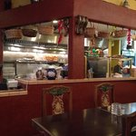 The Kitchen and Dining Area - Favela's Mexican Grill in Fairfield, CA