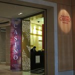 Casino entrance in lobby