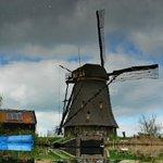 Ветряные мельницы в районе Киндердейк-Элсхаут