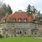 Pittock Mansion - front view