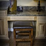 Casita Full Suite desk workstation with free Wi-Fi