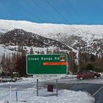 Crown Range Road Closed