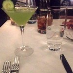 Crossings - Cucumber Basil Martini - Photo by Angela V