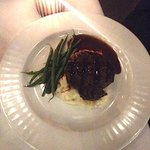 Crossings - Filet Mignon - Loaded Mash Potatoes & Haricots Verts - Photo by Angele V