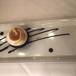 Crossings - Chocolate Crunch Cake - Chocolate Mousse, Valrhona Crunch Pearls, Toasted Meringue -