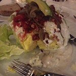 Crossings - BLT Salad -Shallot & Tomato Confit, Roquefort, Alligator Pear - Photo by Angela V