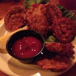 Rocky Mountain oysters...yum!