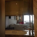 Premier Room - view from bathroom to bedroom