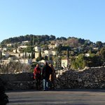 вид на деревню Сан Поль Ванс