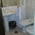 Bagno privato camera tripla