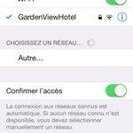 Wifi gratuit et illimité. Accessible même dans les chambres