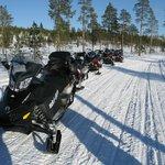Option 4 h Moto Neige