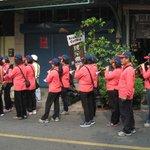 orchestre dans la procession
