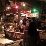 Live music at the Why not bar