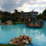 The decorative pool