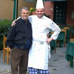 Mr Puny and his Chef